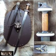 Gotaland Sword & Scabbard - Beowulf Movie.